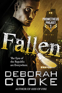 Fallen, #1 of the Prometheus Project of urban fantasy romances by Deborah Cooke